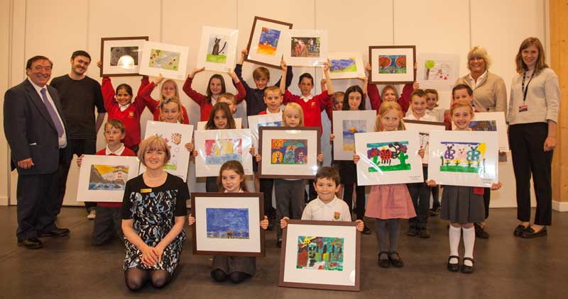 Airyhall School Belvidere Gallery