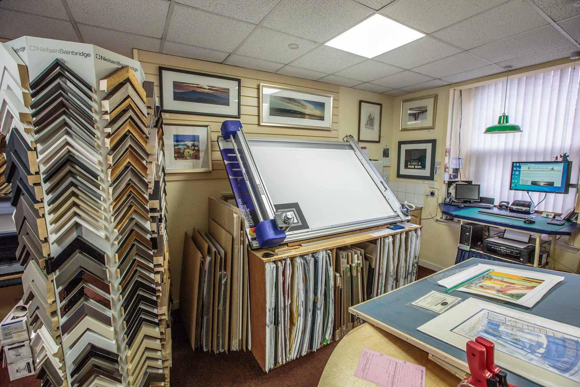 Inside Belvidere Gallery